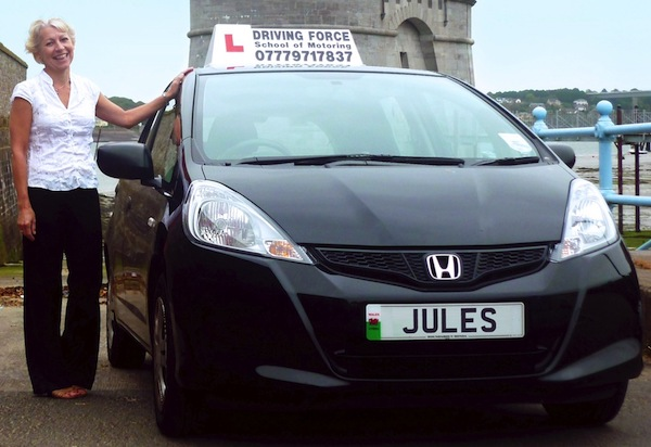 Julie Williams of Driving Force, Pembrokeshire
